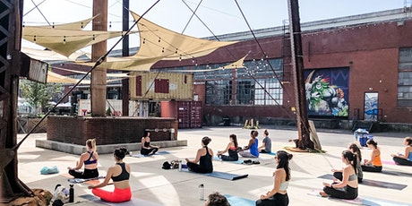 Counterculture Club Hosts Outdoor Yoga at Camp North End tickets