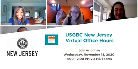 USGBC New Jersey Virtual Office Hours tickets