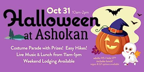 Halloween at Ashokan tickets