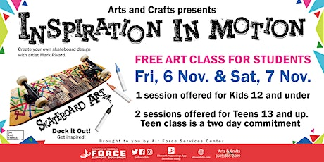 EAFB Inspiration in Motion tickets