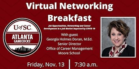 Atlanta Gamecocks Virtual Networking Breakfast tickets