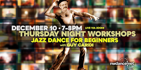 Jazz Dance for Beginners with Guy Caridi tickets