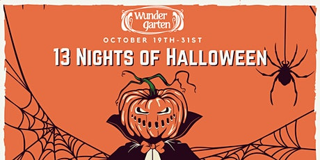 13 Nights of Halloween tickets