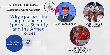 Why Sports? The Importance of Sports to Security and the Armed Forces tickets