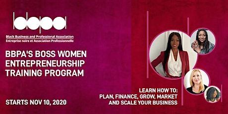 BBPA Boss Women Entrepreneurship Training Program - RELOADED! tickets
