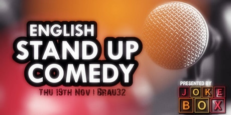 English Stand Up Comedy Night Graz tickets