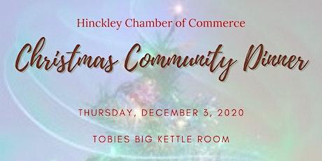 Hinckley Chamber Christmas Community Dinner tickets