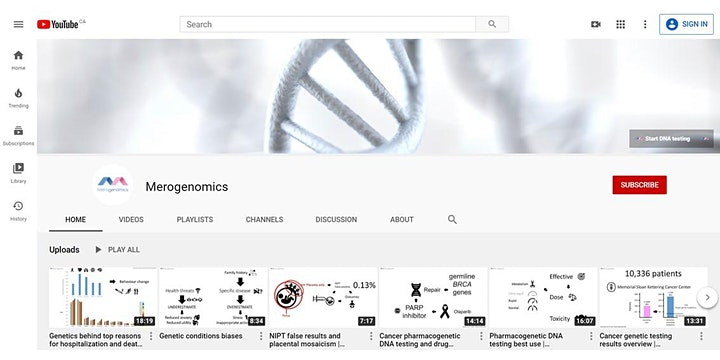 DNA testing in cancer image
