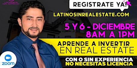 Empieza tu propio negocio, Aprende a invertir en Real Estate! boletos