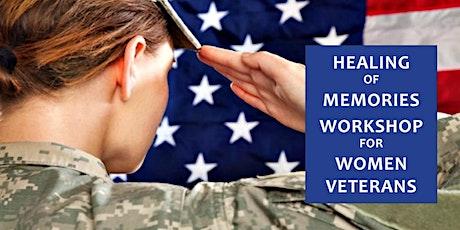 Live via Zoom: Healing of Memories for Women Veterans tickets
