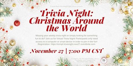 Virtual Trivia Night: Christmas Around the World tickets