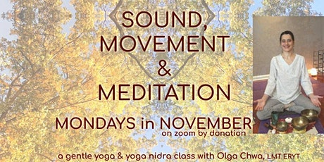 Sound,  Movement & Meditation tickets