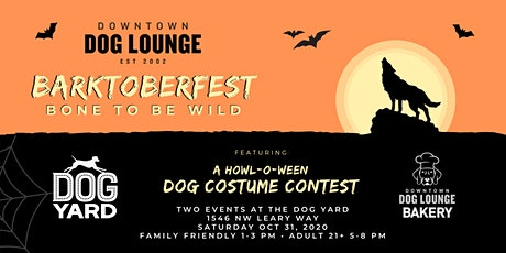 Barktoberfest 2020 - Halloween at the Dog Yard tickets