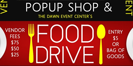Fundraising PopUp & Food Drive tickets