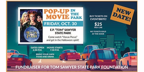 Pop-Up Movie in the Park tickets