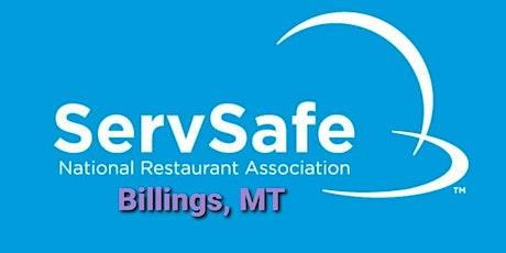 November 22nd, 2020 - ServSafe Manager Course in Billings! tickets