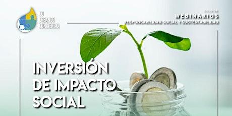 Inversión de Impacto Social boletos