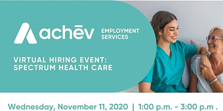 Spectrum Health Care Hiring Event (PSWs, RNs, RPNs ) tickets