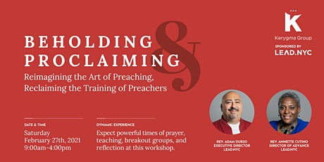 LEAD.NYC Beholding and Proclaiming Preaching Workshop tickets