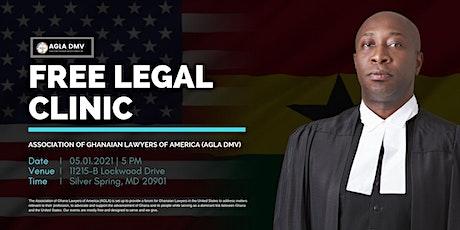 AGLA Legal Clinic tickets