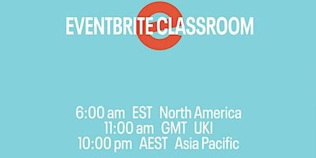 Eventbrite Classroom: Go Live Checklist tickets