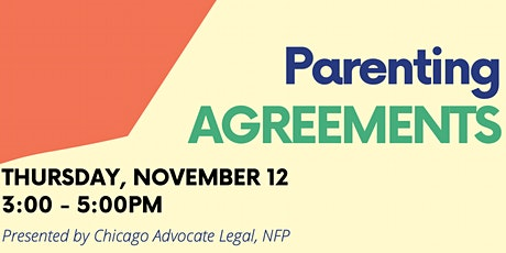 Parenting Agreements tickets
