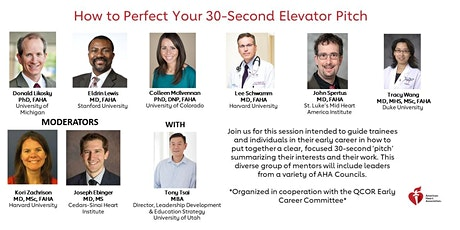 How to Perfect Your 30-Second Elevator Pitch tickets