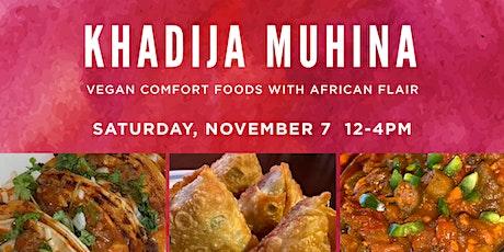 Veganizer PDX: African Popup by Khadija Muhina tickets