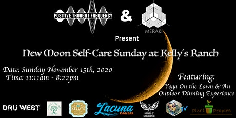 New Moon Self-Care Sunday tickets