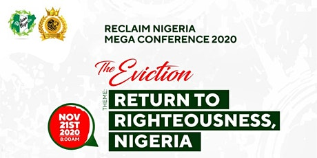 Reclaim Nigeria Mega Conference 2020 tickets