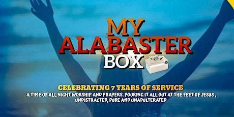 My Alabaster Box - All Night Worship tickets