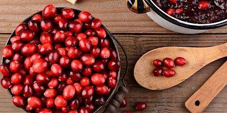 Demo & Dine: Crazy for Cranberries
