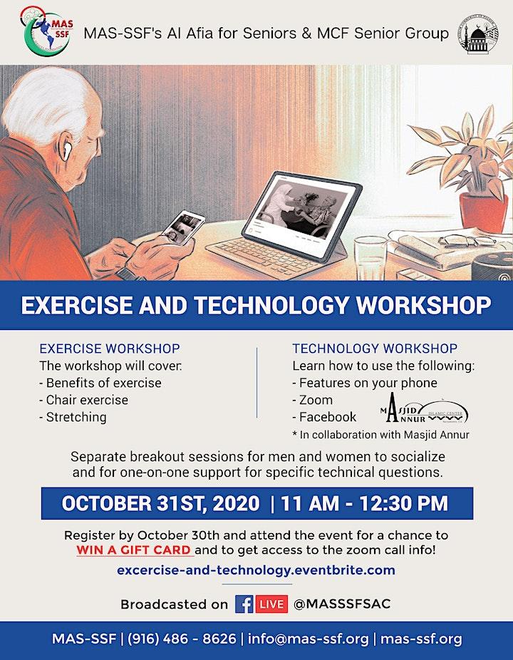 [Senior] Exercise and Technology Workshop image