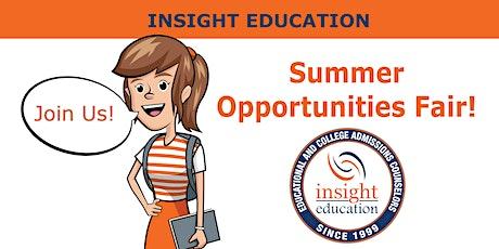 Insight Summer Opportunities Fair: Internships, Research, & More tickets