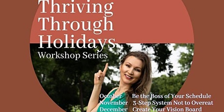 Create Your Vision Board - Thriving Through Holidays Series tickets