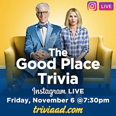 The Good Place Trivia on Instagram LIVE tickets