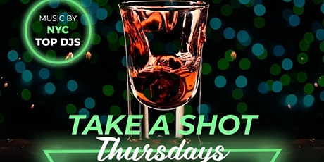 Take A Shot Thursdays Party Taj Lounge NYC Hookah Bottle Service & painting tickets