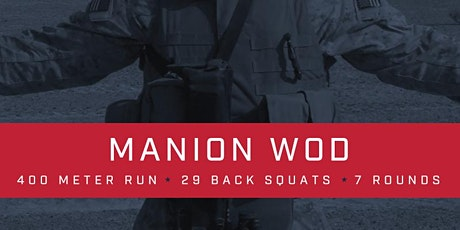 Manion WOD Rally Point 11/21 tickets