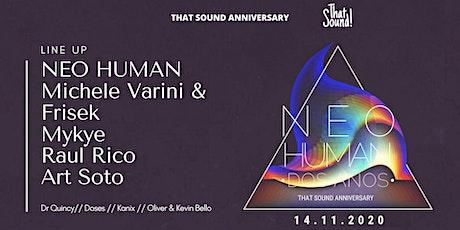 That Sound! 2 años /// Neo Human 14 Nov /// Cancún tickets