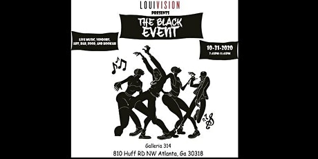 Louivision Presents: The Black Event hosted by Bertrand E. Boyd II tickets