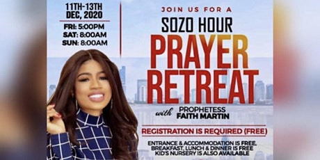 SOZO HOUR PRAYER RETREAT tickets