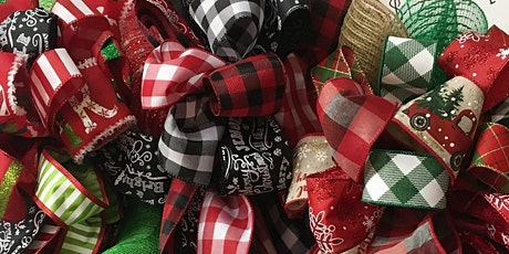 Christmas Decor Bow Class with Bobbie tickets