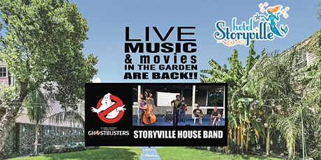 Live Music and Movie in the Garden - Ghostbusters  - New Orleans tickets