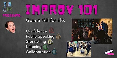Improv Course - 101 tickets