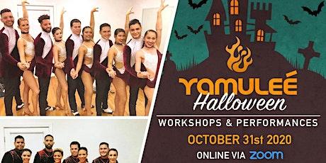 Yamulee Halloween Workshops & Performance Online via ZOOM tickets