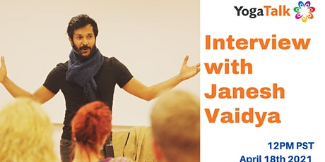 Interview with h Janesh Vaidya- Ayurveda tickets