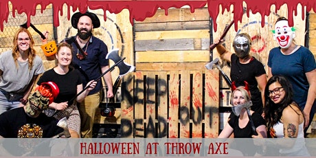 Halloween Axe Throwing tickets