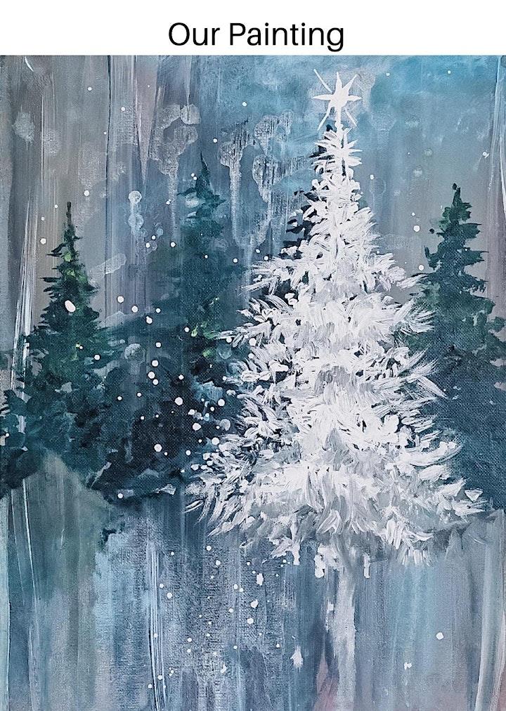 Christmas Sip & Paint Gala image
