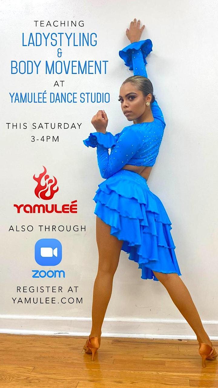 Saturday Online Ladies Styling & Body Movement 3-4pm Live Stream image
