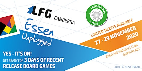 LFG Canberra - Essen Unplugged tickets